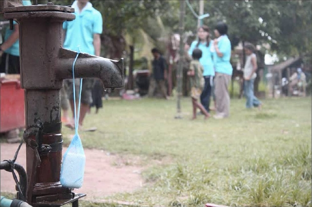 カンボジア中江大樹氏「手洗い習慣化」のボランティア活動の様子画像