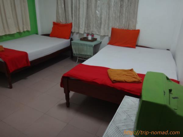 カンボジアシェムリアップ『クロマーヤマトゲストハウス』ホテル室内画像