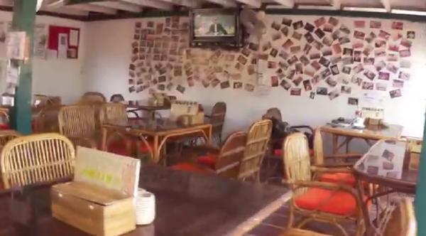 カンボジアシェムリアップ『クロマーヤマトゲストハウス』レストラン画像