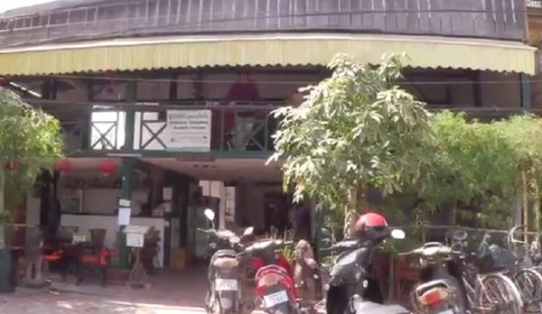 カンボジアシェムリアップ『クロマーヤマトゲストハウス』入り口画像